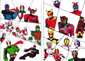 The Legend of Masked Riders by TakarinaTLD93