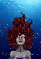 The Little Mermaid - Tears of a Mermaid by kimberly-castello