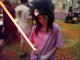 Dr. Giggles has a Light Saber! by SailorStarMiracle