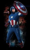 Captain America 04 by DesignsByTopher