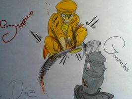 Stephano VS Gonzales by judy2468