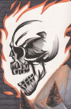 Ghost Rider by Jade-Dragoon136
