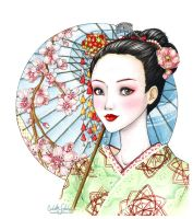 Geisha by Loonaki