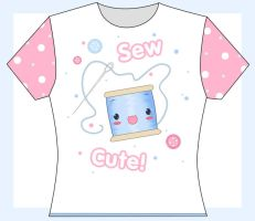 Sew Cute T Shirt by princessmoony
