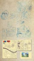 Collected Sketches 11-4-2012 by ryanmalm