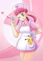 Nurse Joy by dmy-gfx