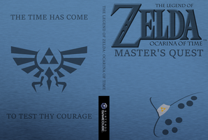 Custom Ocarina of Time Master's Quest Box Art by Cheetashock