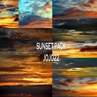 Premium Sunset Sky Pack by jojo22