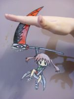 Maka paper child by Polkadot-Creeper