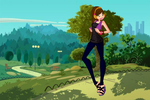 CE - Sarah (Check out my new shoes!) by WinX-Magic