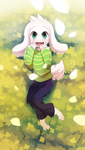 Undertale Asriel Dreemurr by freedomthai