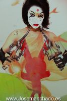 Body paint Kabuki David Mack by josemanchado