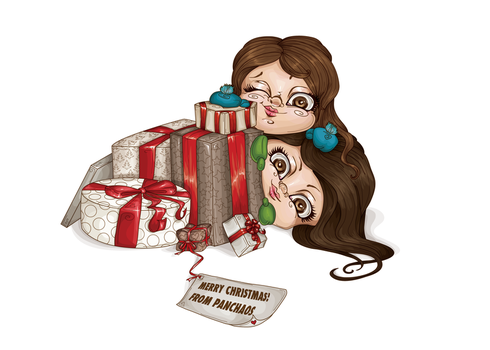 Merry Christmas from Panchaos by LineBirgitte