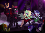 Welcome To My Nightmare ~ Commission by PonyEcho