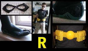 Robin Parts done so far by Red-Space-Ranger