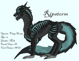 Ripstorm- Vampire Aosaai Ref by Asenath-Nightroad