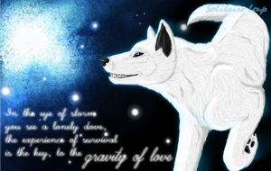 Gravity of love by Solitaire-Loup