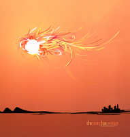 the sun has wings by Smangii