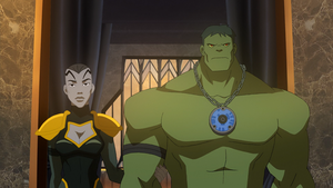 King Hulk and Queen Caiera by dttb6296