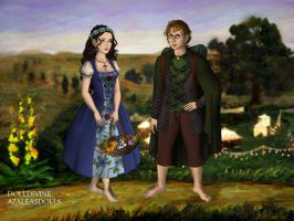Hobbit Maker Jeff and I by moonprincess22