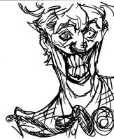 Joker - quick sketch by DenisM79