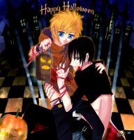 Happy Halloween 2009 by xellover