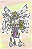 Shakkoumon: The Armoured Angel by Kiarou