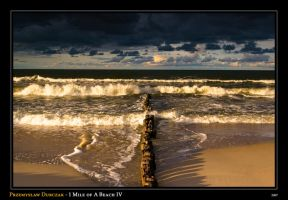 1 Mile of a Beach IV by Tanthalos