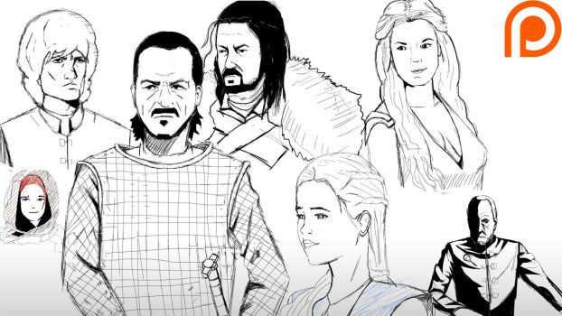 Game of Thrones pratice by Nohealsfoyou