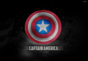 Captain America Shield by inmany