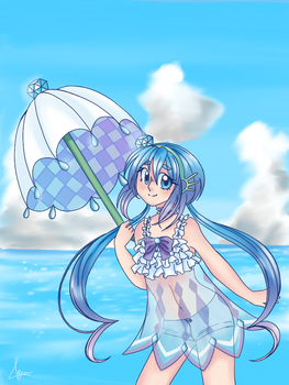 Summertime with Aoki Lapis by Bea2028