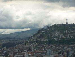 Quito, Ecuador from the Citadel by Malakhite