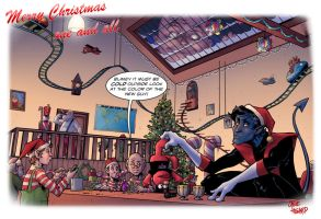 TLID twas the nightcrawler before xmas by StevenHoward