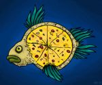 Pizza Fish by hawanja