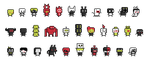 Roguelike characters (Oct 2014) by emimonserrate