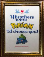 Pokemon Cross Stitch by No-Dogs-Allowed
