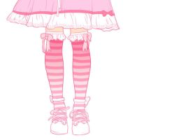 Pink gothic lolita by Heart-Attack-Design