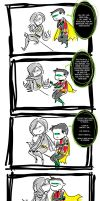 Damian's Apology by Microbluefish