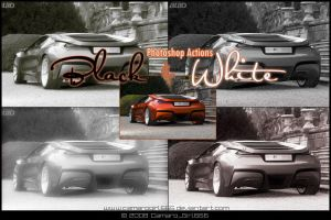 B. and W. Action_set 01 by CamaroGirl666