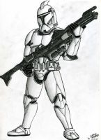 Clone Trooper by cm023