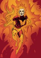Dark Phoenix Colors by MAROK-ART
