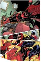Batgirl 14 pg5 by syaf inks by curiel colors by Me by V3dd3rMan