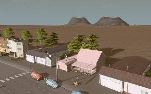 Cities Sklines - House Model In The Game by Shroomworks