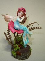 Poppies Fairy by Fairiesworkshop
