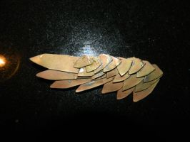 Steampunk wing pin by Paul-Nasca
