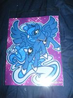 Chicago ComicCon Loot - Princess Luna Print by InsaneSpyro