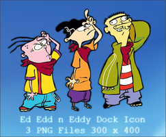 Ed Edd n Eddy Dock Icon by lethalNIK-ART