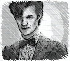 11th doctor by Frohtastic