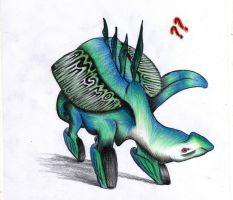 Weirdly colored creature... by M3rcaptan