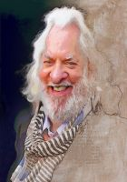 Donald Sutherland by wooden-horse